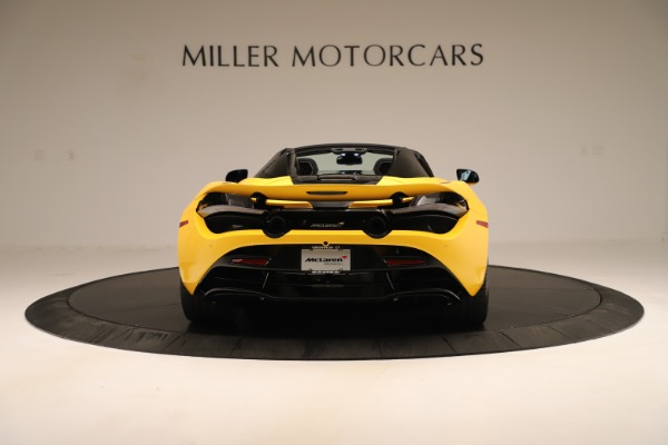 New 2020 McLaren 720S SPIDER Convertible for sale $385,690 at Pagani of Greenwich in Greenwich CT 06830 13