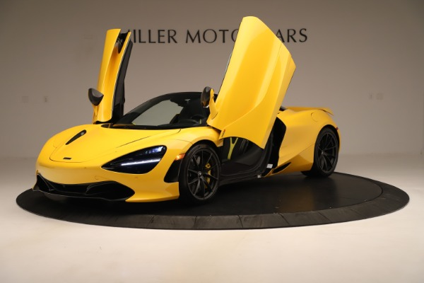 New 2020 McLaren 720S SPIDER Convertible for sale $385,690 at Pagani of Greenwich in Greenwich CT 06830 18