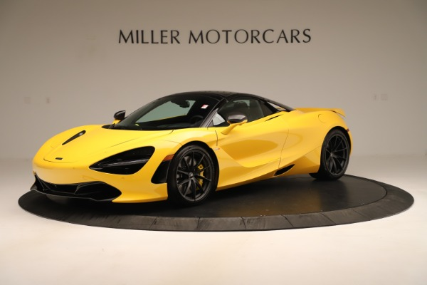 New 2020 McLaren 720S SPIDER Convertible for sale $385,690 at Pagani of Greenwich in Greenwich CT 06830 2