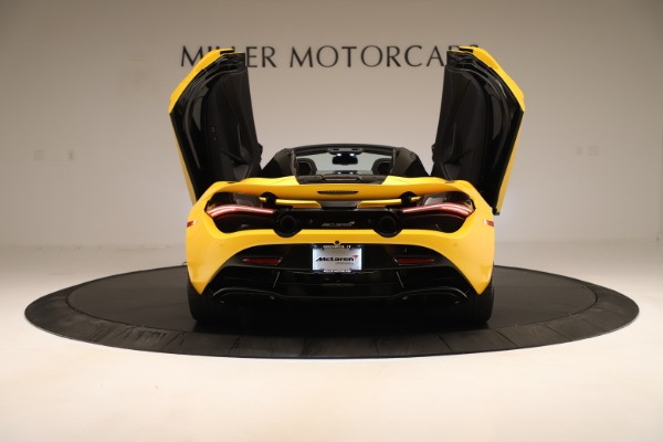 New 2020 McLaren 720S SPIDER Convertible for sale $385,690 at Pagani of Greenwich in Greenwich CT 06830 20