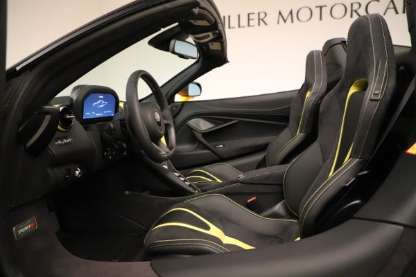 New 2020 McLaren 720S SPIDER Convertible for sale $385,690 at Pagani of Greenwich in Greenwich CT 06830 27