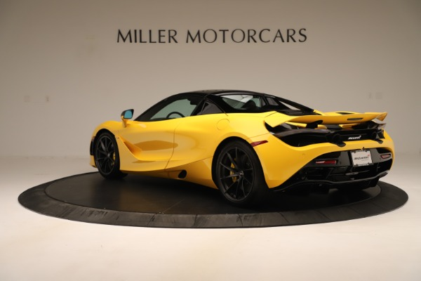 New 2020 McLaren 720S SPIDER Convertible for sale $385,690 at Pagani of Greenwich in Greenwich CT 06830 4