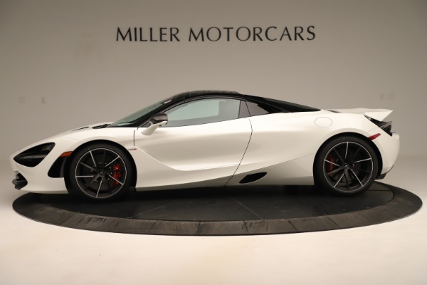 New 2020 McLaren 720S SPIDER Convertible for sale Sold at Pagani of Greenwich in Greenwich CT 06830 3