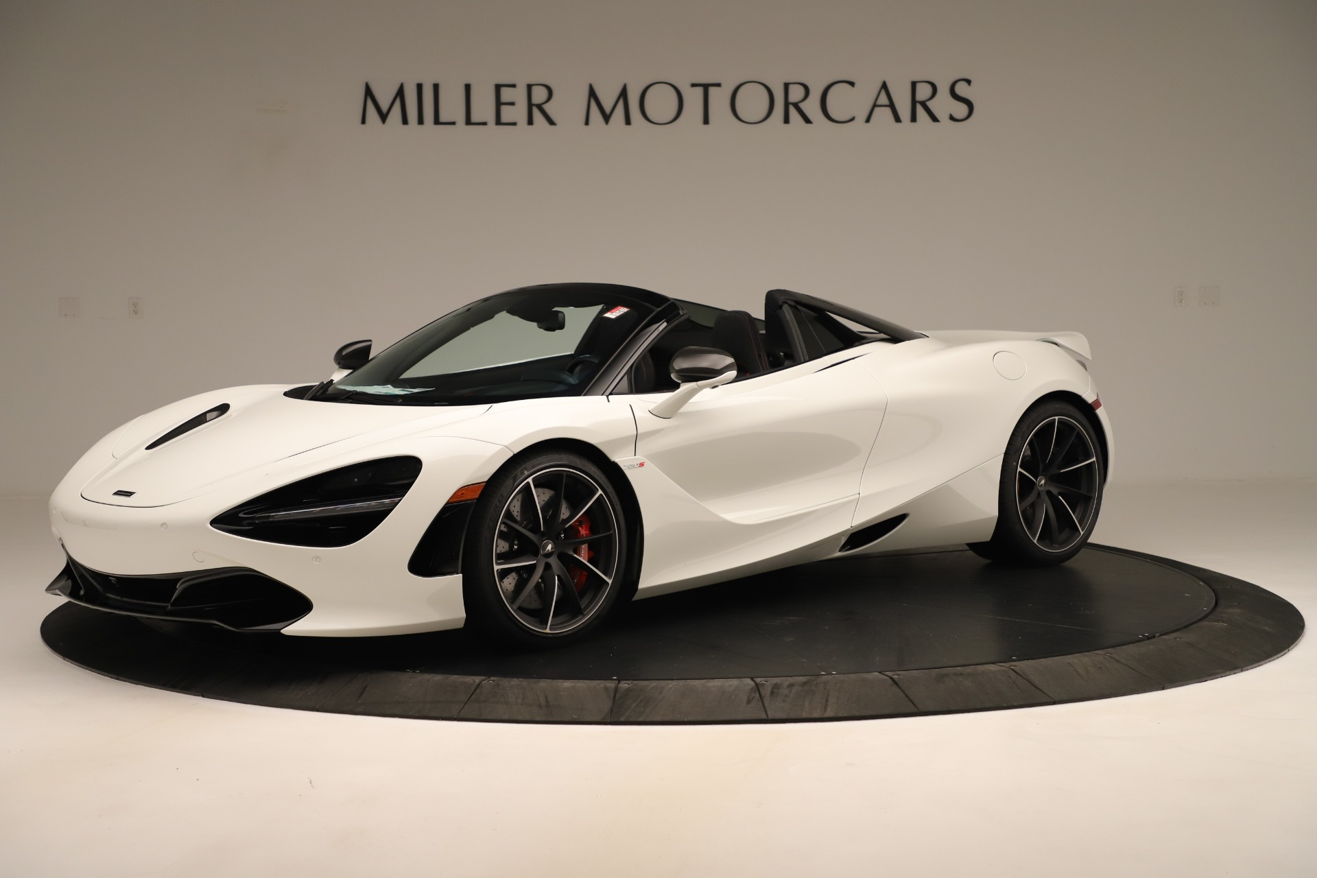 New 2020 McLaren 720S SPIDER Convertible for sale Sold at Pagani of Greenwich in Greenwich CT 06830 1