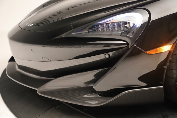 Used 2019 McLaren 600LT Luxury for sale Call for price at Pagani of Greenwich in Greenwich CT 06830 19