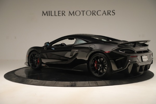 Used 2019 McLaren 600LT Luxury for sale Call for price at Pagani of Greenwich in Greenwich CT 06830 3