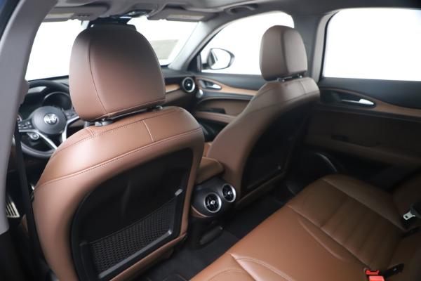 New 2019 Alfa Romeo Stelvio Ti Lusso Q4 for sale Sold at Pagani of Greenwich in Greenwich CT 06830 20