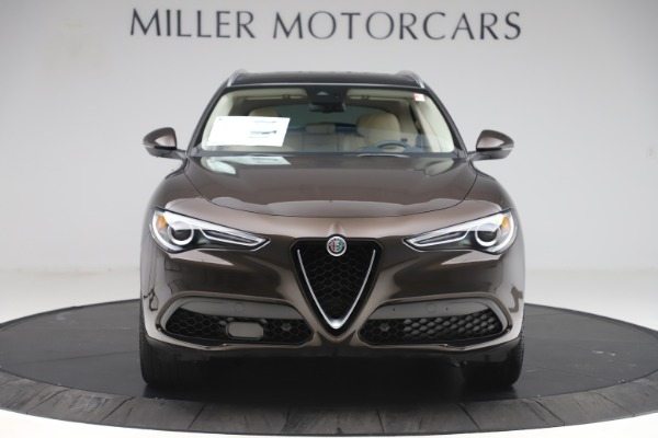 New 2019 Alfa Romeo Stelvio Ti Lusso Q4 for sale Sold at Pagani of Greenwich in Greenwich CT 06830 12