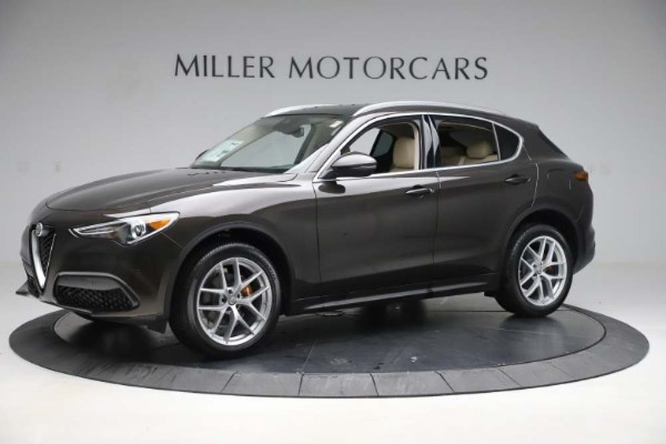 New 2019 Alfa Romeo Stelvio Ti Lusso Q4 for sale Sold at Pagani of Greenwich in Greenwich CT 06830 2