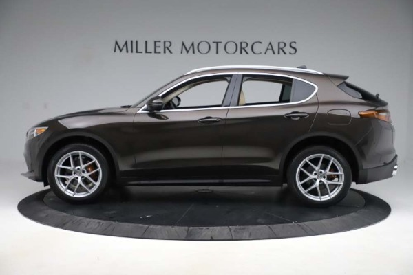 New 2019 Alfa Romeo Stelvio Ti Lusso Q4 for sale Sold at Pagani of Greenwich in Greenwich CT 06830 3