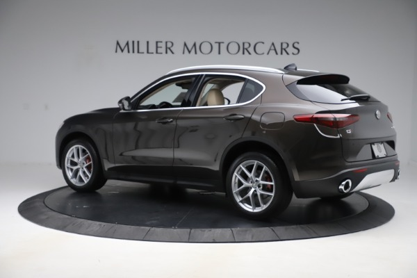 New 2019 Alfa Romeo Stelvio Ti Lusso Q4 for sale Sold at Pagani of Greenwich in Greenwich CT 06830 4