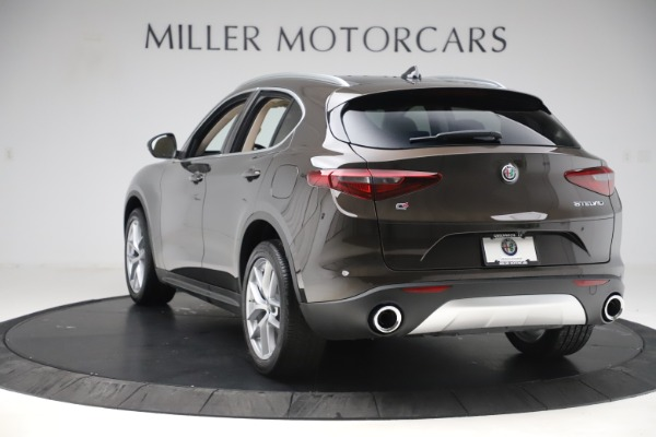 New 2019 Alfa Romeo Stelvio Ti Lusso Q4 for sale Sold at Pagani of Greenwich in Greenwich CT 06830 5