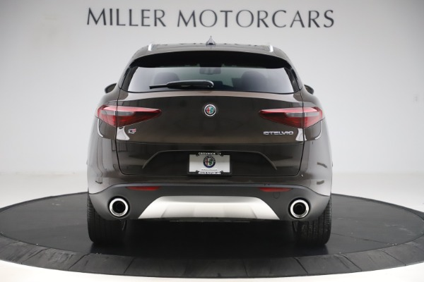 New 2019 Alfa Romeo Stelvio Ti Lusso Q4 for sale Sold at Pagani of Greenwich in Greenwich CT 06830 6