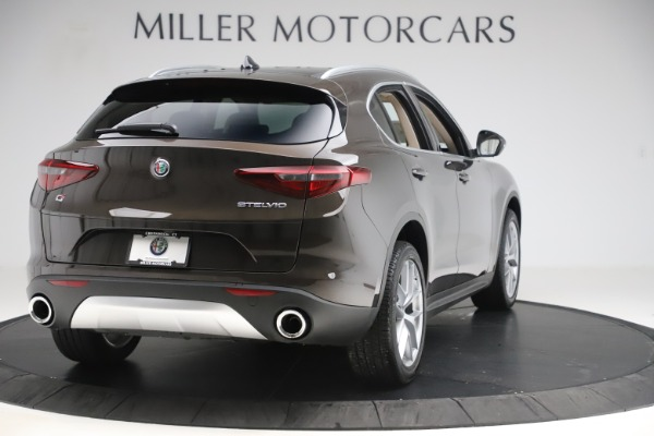 New 2019 Alfa Romeo Stelvio Ti Lusso Q4 for sale Sold at Pagani of Greenwich in Greenwich CT 06830 7