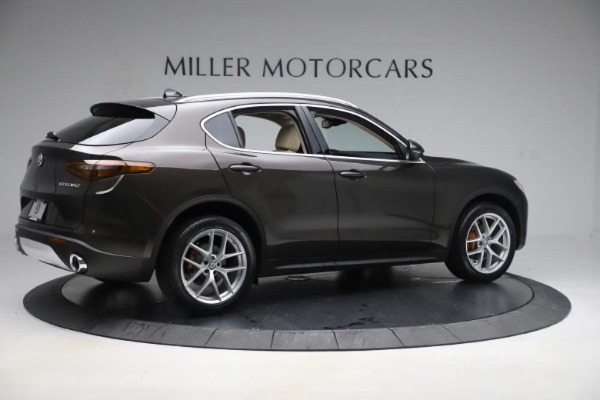 New 2019 Alfa Romeo Stelvio Ti Lusso Q4 for sale Sold at Pagani of Greenwich in Greenwich CT 06830 8