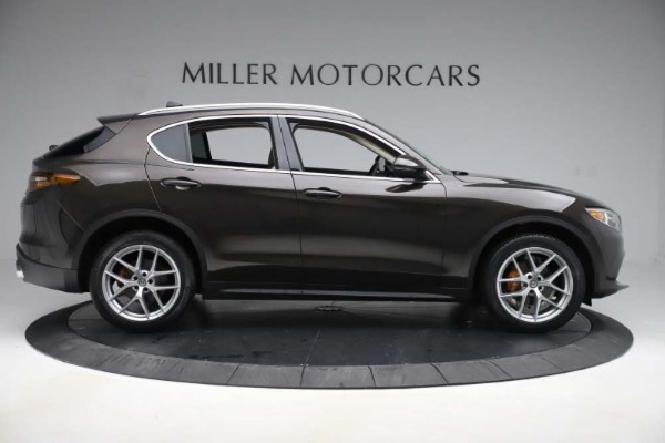 New 2019 Alfa Romeo Stelvio Ti Lusso Q4 for sale Sold at Pagani of Greenwich in Greenwich CT 06830 9