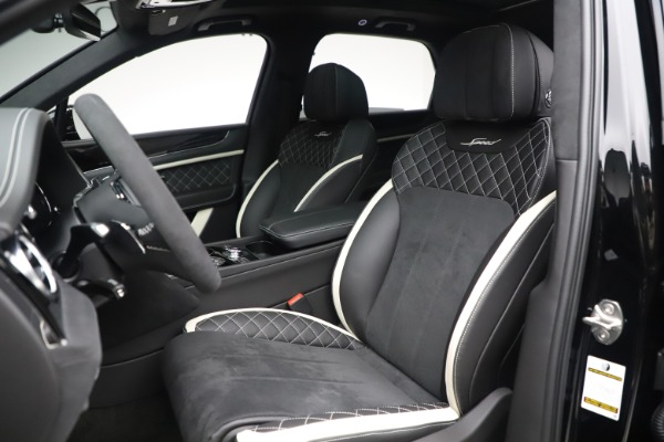 New 2020 Bentley Bentayga Speed for sale $259,495 at Pagani of Greenwich in Greenwich CT 06830 19