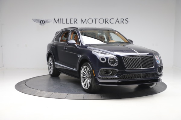 New 2020 Bentley Bentayga Speed for sale Sold at Pagani of Greenwich in Greenwich CT 06830 11
