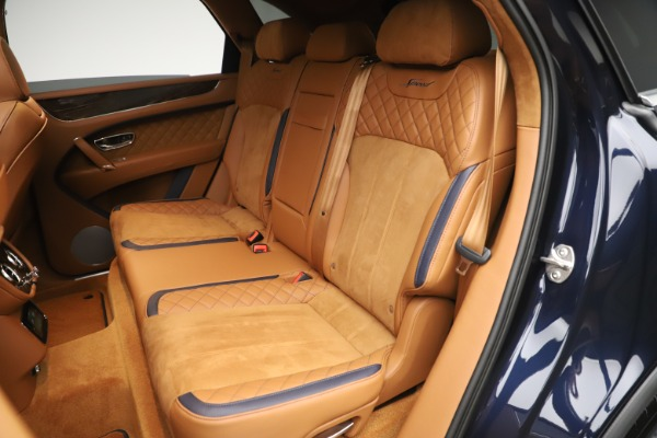 New 2020 Bentley Bentayga Speed for sale Sold at Pagani of Greenwich in Greenwich CT 06830 26