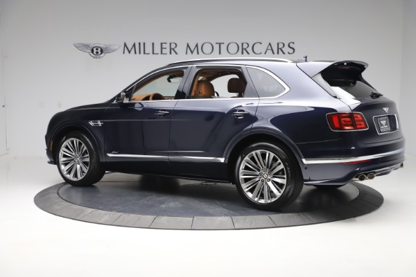 New 2020 Bentley Bentayga Speed for sale Sold at Pagani of Greenwich in Greenwich CT 06830 4