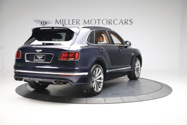 New 2020 Bentley Bentayga Speed for sale Sold at Pagani of Greenwich in Greenwich CT 06830 7