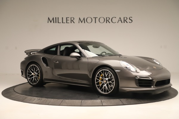Used 2015 Porsche 911 Turbo S for sale Sold at Pagani of Greenwich in Greenwich CT 06830 10