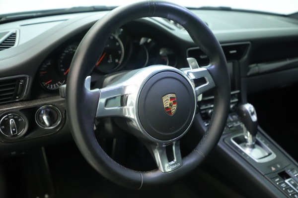 Used 2015 Porsche 911 Turbo S for sale Sold at Pagani of Greenwich in Greenwich CT 06830 23