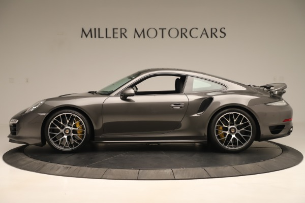 Used 2015 Porsche 911 Turbo S for sale Sold at Pagani of Greenwich in Greenwich CT 06830 3