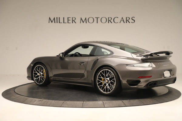 Used 2015 Porsche 911 Turbo S for sale Sold at Pagani of Greenwich in Greenwich CT 06830 4