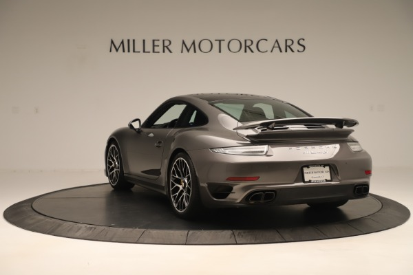 Used 2015 Porsche 911 Turbo S for sale Sold at Pagani of Greenwich in Greenwich CT 06830 5