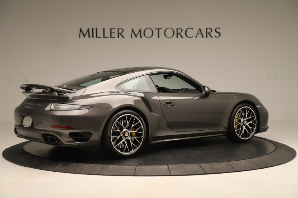 Used 2015 Porsche 911 Turbo S for sale Sold at Pagani of Greenwich in Greenwich CT 06830 8