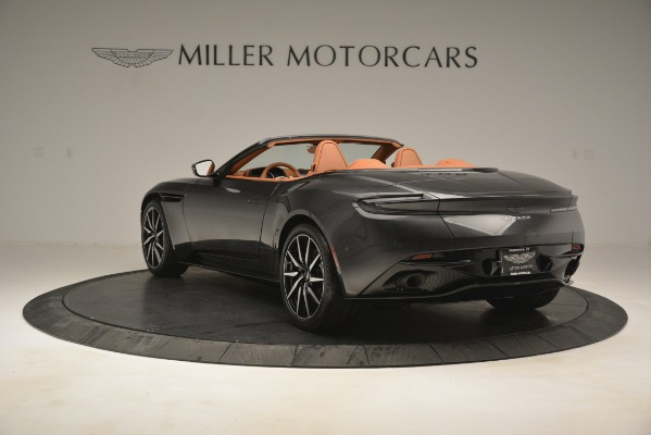 Used 2019 Aston Martin DB11 V8 Volante for sale Sold at Pagani of Greenwich in Greenwich CT 06830 4