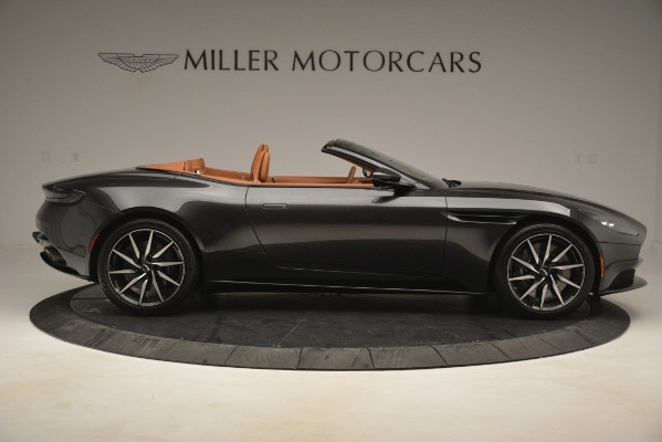 Used 2019 Aston Martin DB11 V8 Volante for sale Sold at Pagani of Greenwich in Greenwich CT 06830 8