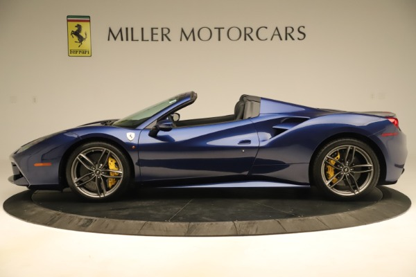 Used 2019 Ferrari 488 Spider for sale Sold at Pagani of Greenwich in Greenwich CT 06830 3