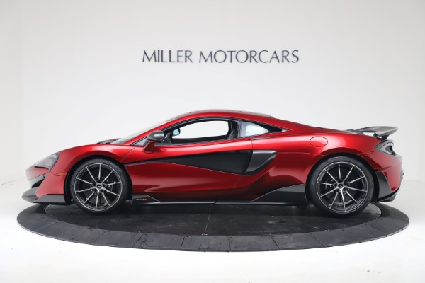 New 2019 McLaren 600LT Luxury for sale $285,236 at Pagani of Greenwich in Greenwich CT 06830 2