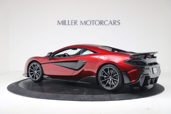 New 2019 McLaren 600LT Luxury for sale $285,236 at Pagani of Greenwich in Greenwich CT 06830 3