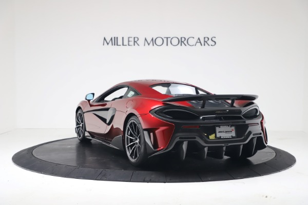 New 2019 McLaren 600LT Coupe for sale $285,236 at Pagani of Greenwich in Greenwich CT 06830 4