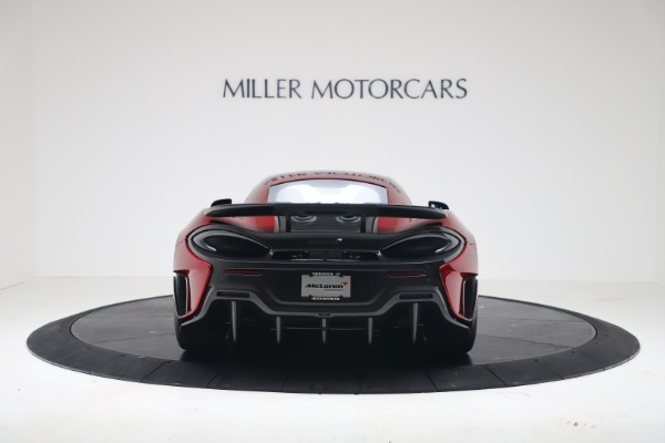 New 2019 McLaren 600LT Luxury for sale $285,236 at Pagani of Greenwich in Greenwich CT 06830 5
