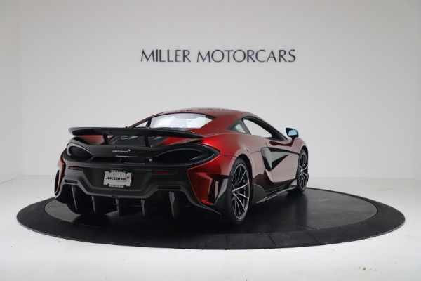 New 2019 McLaren 600LT for sale $285,236 at Pagani of Greenwich in Greenwich CT 06830 6