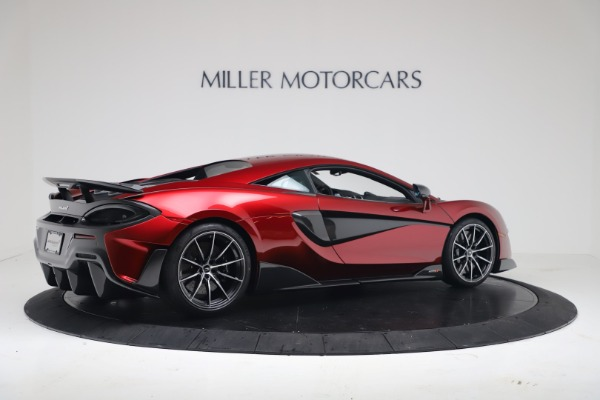 New 2019 McLaren 600LT for sale $285,236 at Pagani of Greenwich in Greenwich CT 06830 7