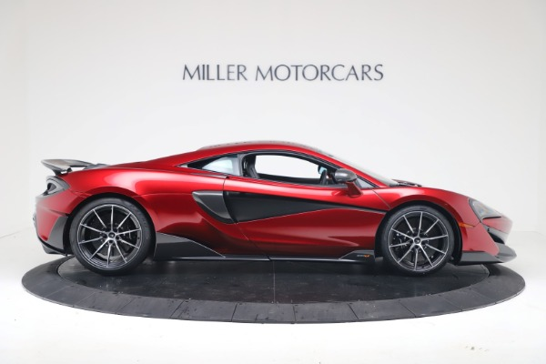 New 2019 McLaren 600LT Luxury for sale $285,236 at Pagani of Greenwich in Greenwich CT 06830 8