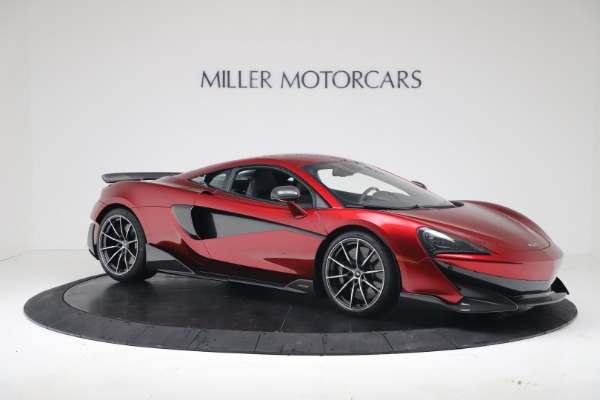 New 2019 McLaren 600LT for sale $285,236 at Pagani of Greenwich in Greenwich CT 06830 9