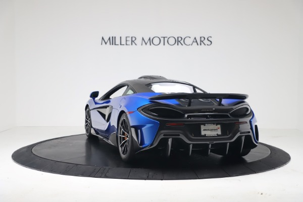 New 2019 McLaren 600LT Coupe for sale Sold at Pagani of Greenwich in Greenwich CT 06830 4