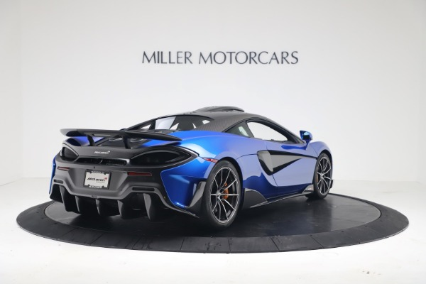 New 2019 McLaren 600LT Coupe for sale Sold at Pagani of Greenwich in Greenwich CT 06830 6