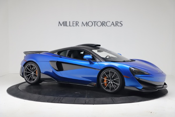 New 2019 McLaren 600LT Coupe for sale Sold at Pagani of Greenwich in Greenwich CT 06830 9