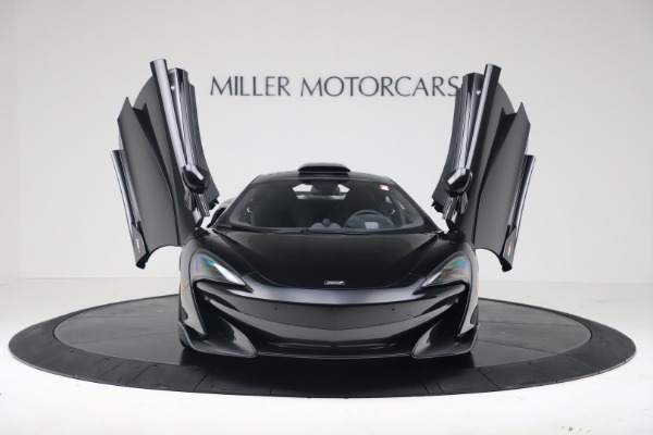 New 2019 McLaren 600LT Coupe for sale $305,639 at Pagani of Greenwich in Greenwich CT 06830 11