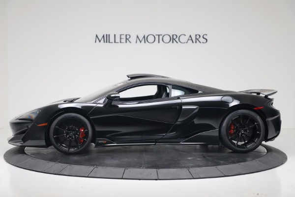 New 2019 McLaren 600LT for sale $305,639 at Pagani of Greenwich in Greenwich CT 06830 2