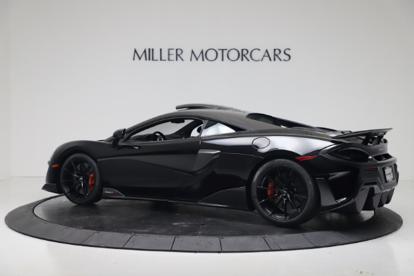 New 2019 McLaren 600LT Coupe for sale $305,639 at Pagani of Greenwich in Greenwich CT 06830 3