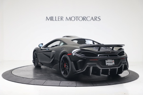 New 2019 McLaren 600LT Coupe for sale $305,639 at Pagani of Greenwich in Greenwich CT 06830 4