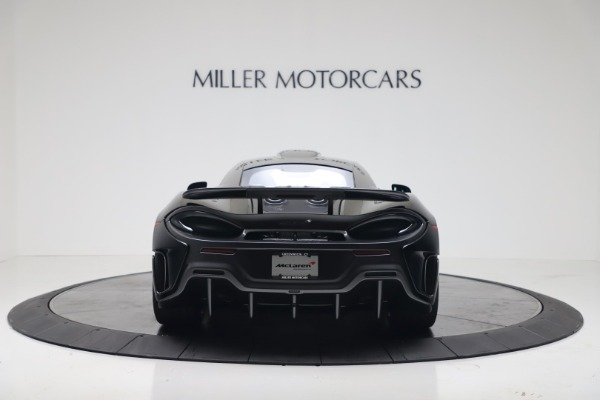 New 2019 McLaren 600LT for sale $305,639 at Pagani of Greenwich in Greenwich CT 06830 5